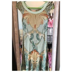 Anthropologie Cecelia Prado body con dress